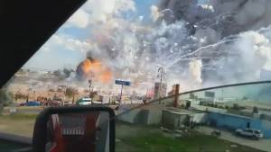 27 dead, dozens injured in explosion at fireworks market in Mexico