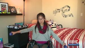 Alberta girl readjusting after Kananaskis hiking accident