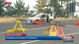 Waterton park and townsite under mandatory evacuation due to wildfire
