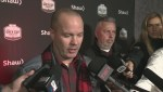 Redblacks coach Rick Campbell talks about Jonathan Rose suspension