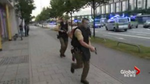8 people killed in mass shooting at shopping mall in Munich, Germany
