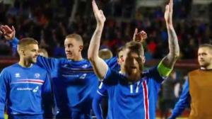 Underdog Iceland riding high after draw with Argentina at World Cup