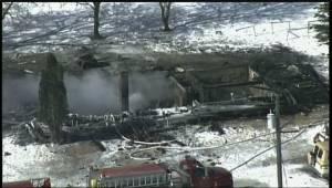 Fire that killed 4 children still smoulders near Kane, Man.