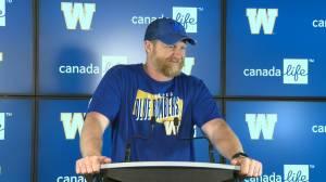 RAW: Blue Bombers Mike O'Shea Media Briefing – July 17