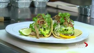 Turkey tacos for those Thanksgiving leftovers