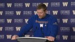RAW: Blue Bombers Mike O'Shea Post Game