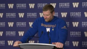 RAW: Blue Bombers Mike O'Shea Post Game