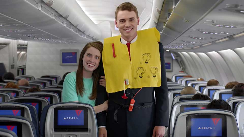 WATCH Delta Airlines releases Internet meme-themed safety video
