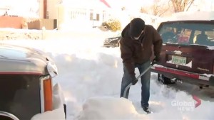 Moose Jaw residents still digging out after recent snow storm