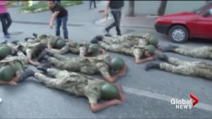Istanbul police arrest military soldiers following failed coup