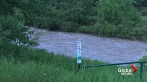 Pincher Creek under flood warning