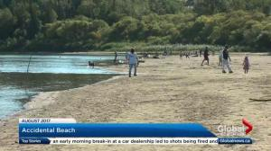 What should Edmonton do to handle a second summer with Accidental Beach?