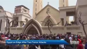 Dozens dead in Palm Sunday terror attacks in Egypt