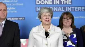 May's latest Brexit offer rejected; cabinet tells her to quit