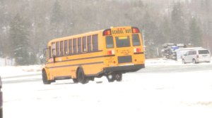Parents express frustration over schools staying open during first snowstorm