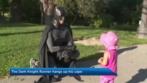 Oshawa student known as Dark Knight Runner hangs up his cape