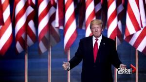 Donald Trump accepts presidential nomination, vows to fix America