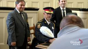 Paul VandeGraaf sworn in as Cobourg police chief amid allegations