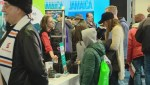 Busy travel show