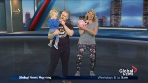 Kettlebell workouts for parents