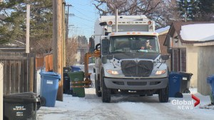 Should Calgary green bin pickup be bi-weekly?