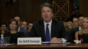 Brett Kavanaugh fights back tears during emotional Senate testimony