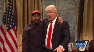 'SNL' goes into the Oval Office to cover Kanye West's meeting with President Donald Trump