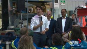 Prime Minister Justin Trudeau spends Friday in Edmonton