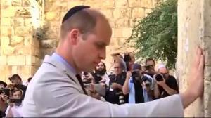 Prince William visit great-grandmother Alice's tomb in Jerusalem