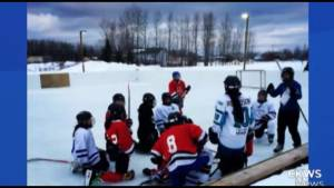 Kingston Police Constable fund raising for indigenous girls hockey team