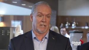 Premier John Horgan on creating new markets for B.C. wine