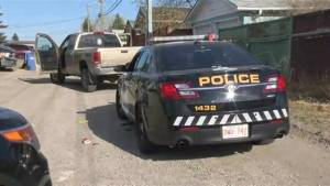 Man leads Calgary Police on a wild chase after stealing a truck with a 14 year old boy inside.