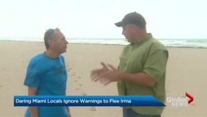 Some Miami residents choose to ride out Hurricane Irma at home