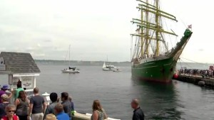 Thousands flock to Halifax, Dartmouth waterfronts for Tall Ships Regatta