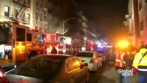 Twelve dead in New York City apartment fire