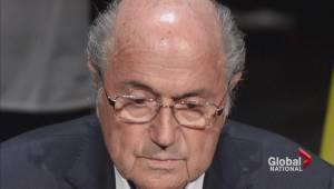 FIFA's Sepp Blatter now the focus of criminal investigation