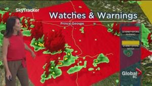 BC Evening Weather Forecast: Jul 31