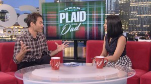 Eric McCormack talks TV and his father's battle with prostate cancer