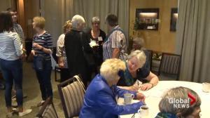 Canadian war brides return to Halifax