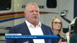 Premier Ford attacks federal carbon tax