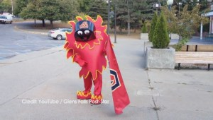 Adirondack Flames mascot 'Scorch' revealed