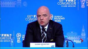 FIFA President says he's not concerned with interference by Trump