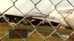 Cargo Plane overshoots runway