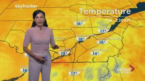 Global News Morning weather forecast: Tuesday July 16, 2019