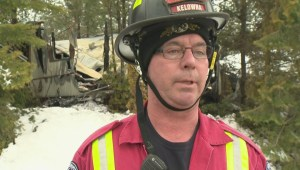 One dead, 3 firefighters injured in Kelowna fire