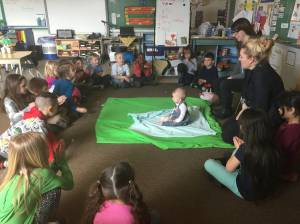 Babies teach empathy in Okanagan classrooms
