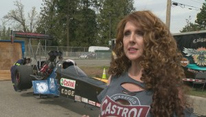 It's life in the fast lane for drag racer competing in B.C.