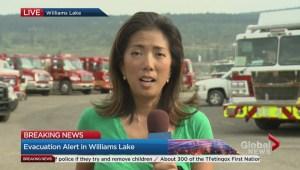 William Lake on edge amid evacuation alert