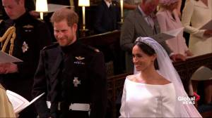 Royal Wedding: Prince Harry, Meghan Markle exchange wedding vows