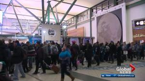Busiest day of the year at Edmonton International Airport